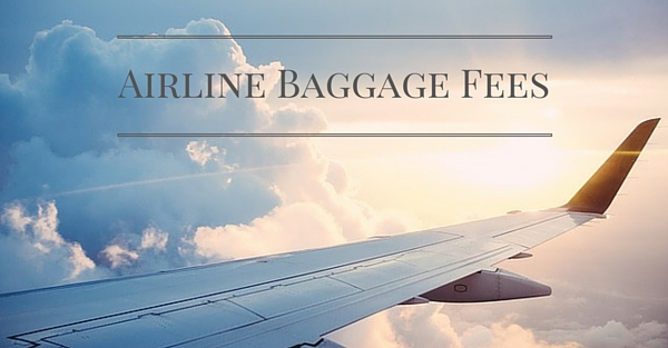 Airlines Checked Baggage Fee Continental Matches Delta