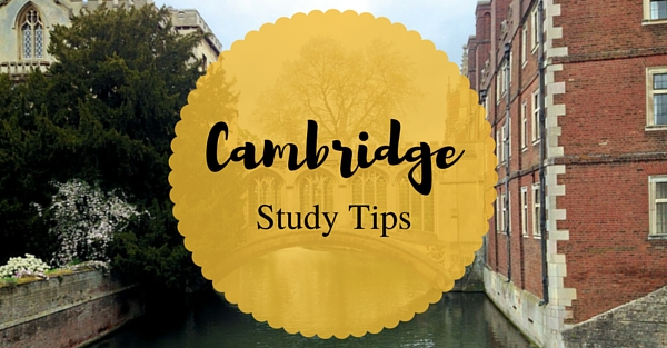 Top Cambridge study tips!