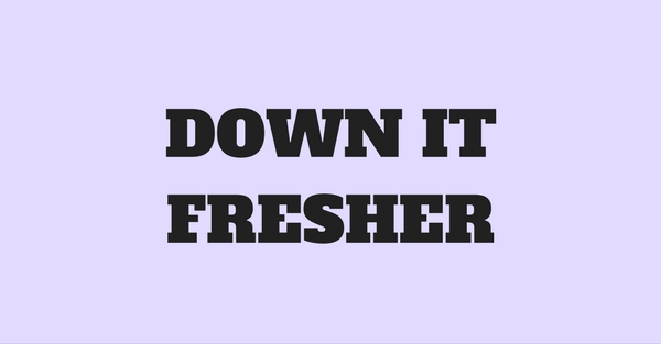 31 Lessons You Learn During Freshers Week