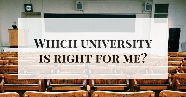 Which REALLY GOOD university would be right for me?