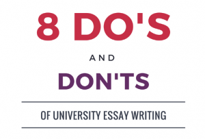 university essay writing