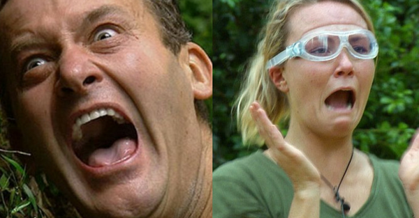 i'm a celebrity reactions