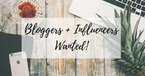Bloggers & Influencers Wanted! (2)