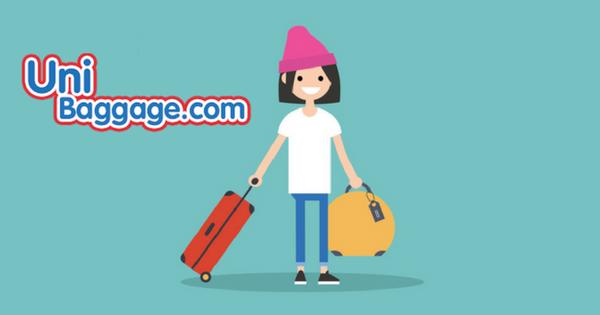 uni baggage student shipping