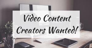 Content Creators Wanted