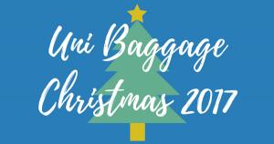 uni baggage christmas 2017