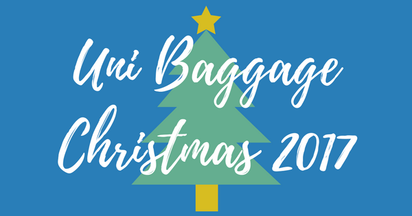 uni baggage christmas 2017 send by dates