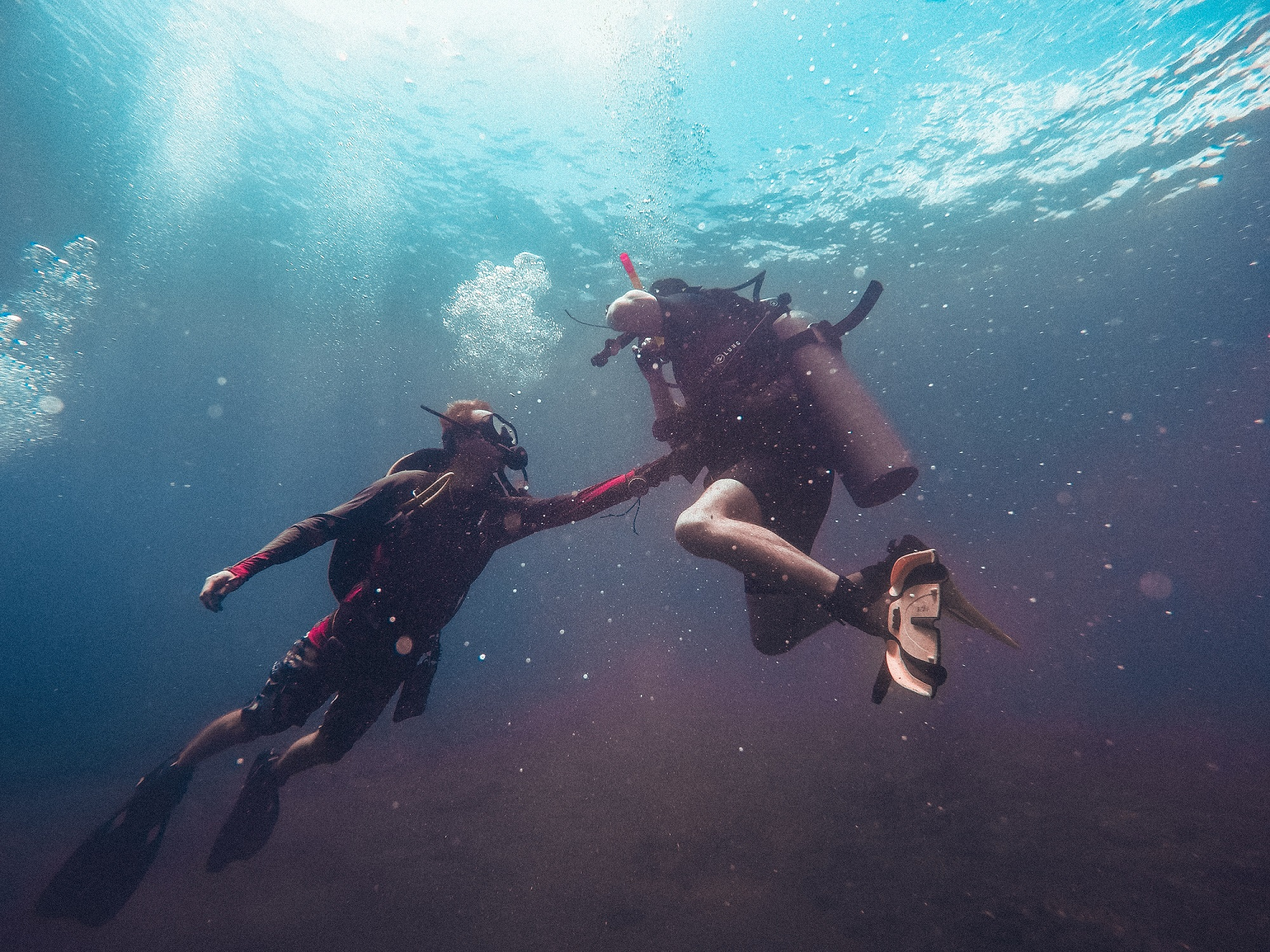 How to be an environmentally friendly scuba diver