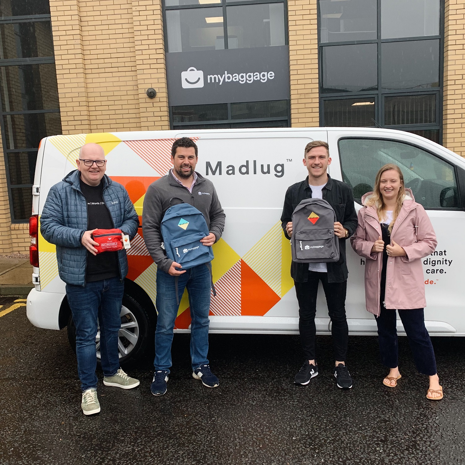 Madlug and My Baggage Announce Partnership in Bid to Make a Difference to Children in Care