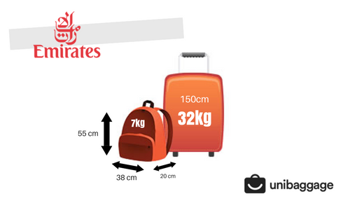 emirates 2018 baggage allowance