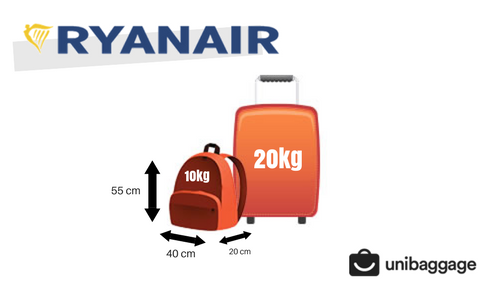 Ryanair 2018 Baggage Allowance