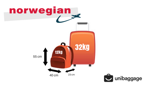 norwegian airlines baggage allowance
