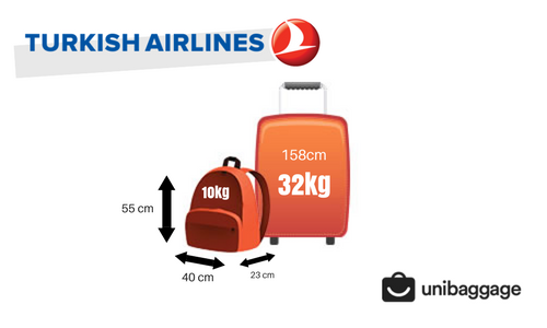 Turkish Airlines 2017 Baggage Allowance