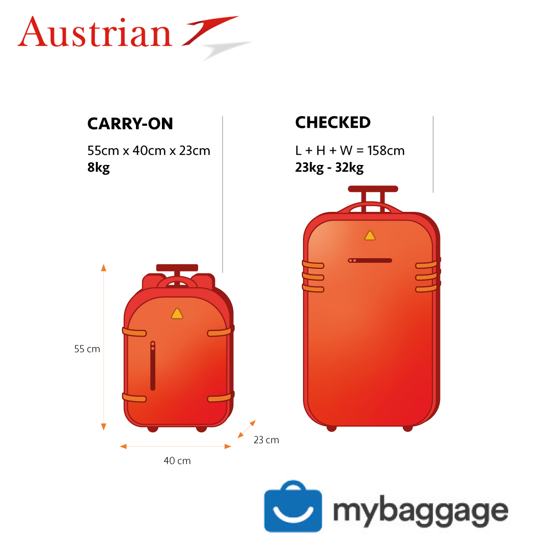 Austrian Airlines Baggage Allowance