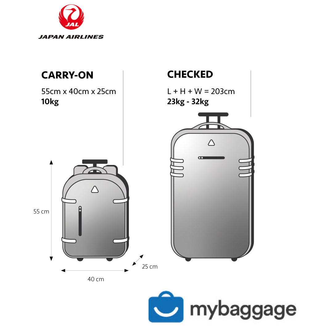 Japan Airlines Baggage Allowance