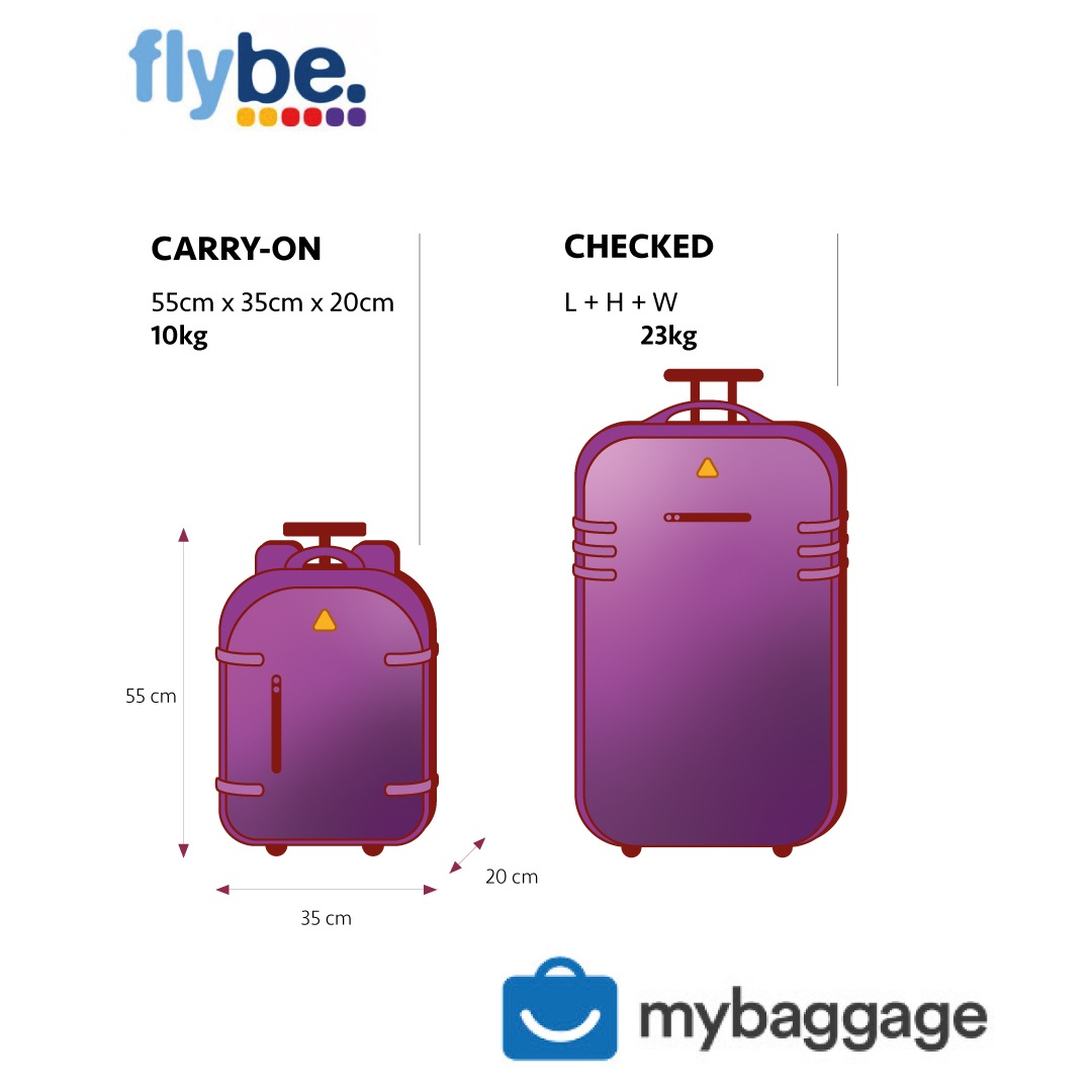 Flybe 2019 Baggage Allowance My Baggage