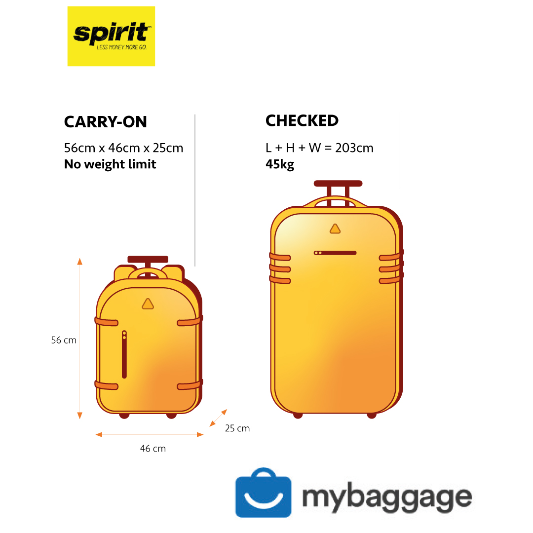Spirit Airlines 2020 Baggage Allowance